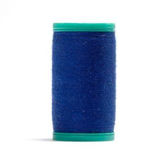 Bobine de fil cordonnet100 % polyester Bleu