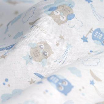 Tissu PUL pour couches lavables chouettes