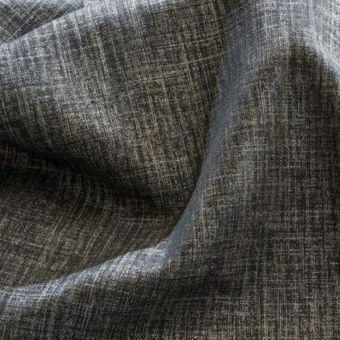 Toile lin coton Derwent gris