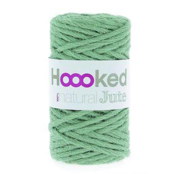 Pelote de fil de jute Hoooked vert