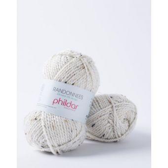 Fil à tricoter Randonnées écru