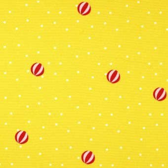 Tissu toile jaune imperméable anti-uv ballons