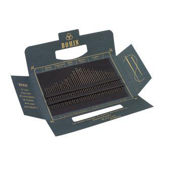 Carnet de 40 aiguilles de Bohin - édition 185 ans bleu Solange