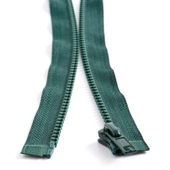 Fermeture plastique séparable n° 5 - Vert