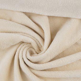 Tissu éponge bambou doudou beige