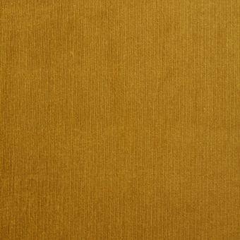 Tissu velours milleraies jaune