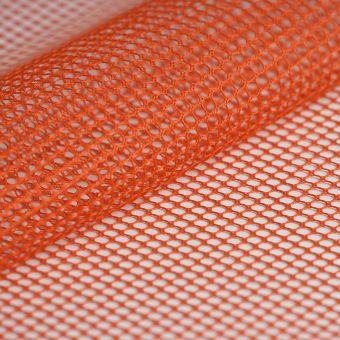 Tissu filet mesh rouge