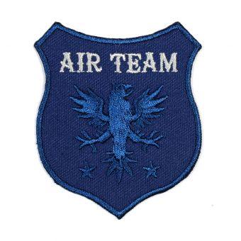 Écusson thermocollant Air Team bleu