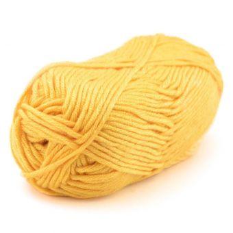 Pelote de fil à tricoter songe citron - Plassard