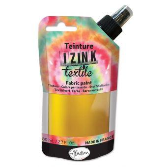 Teinture textile en spray izink or 80 ml