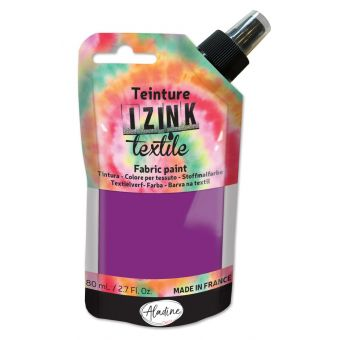 Teinture textile en spray izink cinabre 80 ml