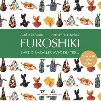 Livre Furoshiki l'art d'emballer avec du tissu