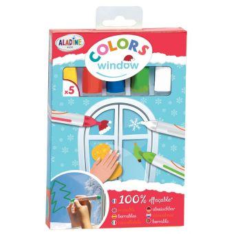 Crayons pour vitre - Pack de 5