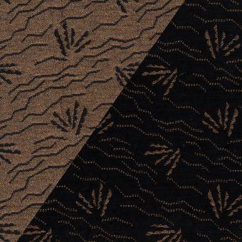 Tissu jacquard Walkie Talkie motif dune desert sunrise