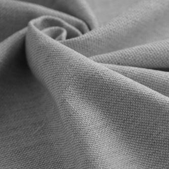 Toile Malmo grise coton polyester recyclé