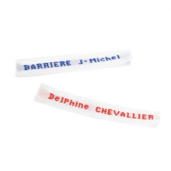 Etiquettes nom brodé pour vêtements