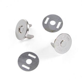 Bouton magnétique 20 mm Acier