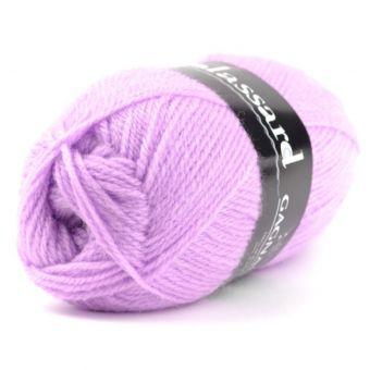 Pelote de fil à tricoter gagnante lilas - Plassard