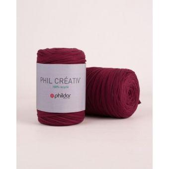Fil à tricoter Phildar créativ violet