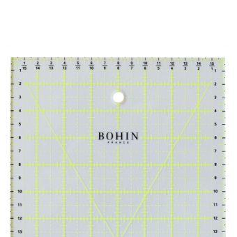 Règle patchwork Bohin 60 x 16 cm
