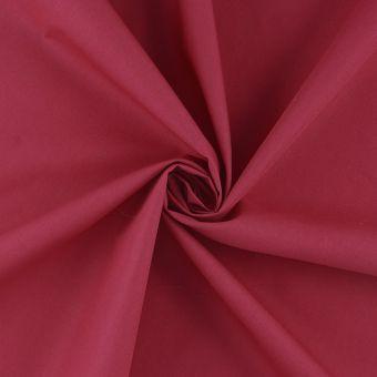 Tissu coton percale fuchsia grande largeur