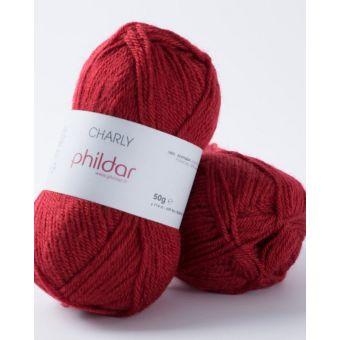 Fil à tricoter Phildar Charly pavot