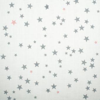 Tissu lange imprimé étoiles