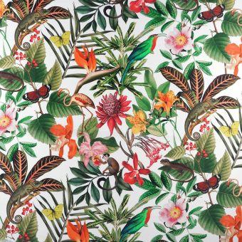 Tissu toile outdoor imprimé jungle