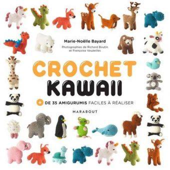 Livre Crochet kawai + de 35 amigurumis faciles à réaliser