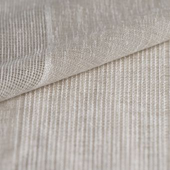 Voilage rayures horizontales beige