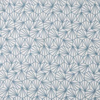 Tissu japonais origami bleu