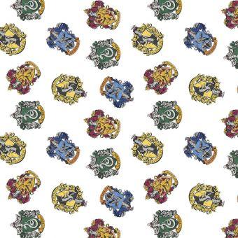 Tissu coton Harry Potter Poudlard