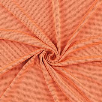 Tissu sport anti-uv antibactérien orange