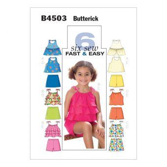 Patron combinaison fille Butterick 4503