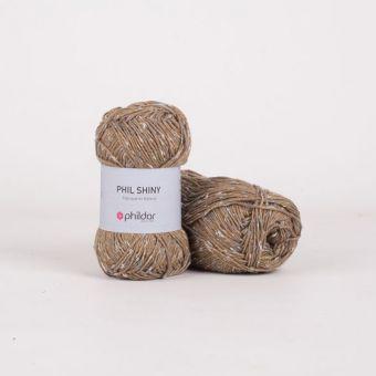 Fil à tricoter Phildar Shiny kaki