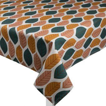 Nappe rectangulaire Makers imprimé feuilles