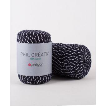 Fil à tricoter Phildar créativ marinière