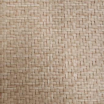 Tissu simili cuir extérieur Rattan naturel