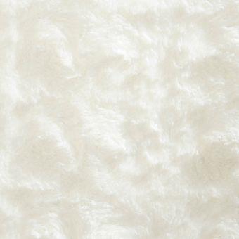 Fausse fourrure légère unie blanche