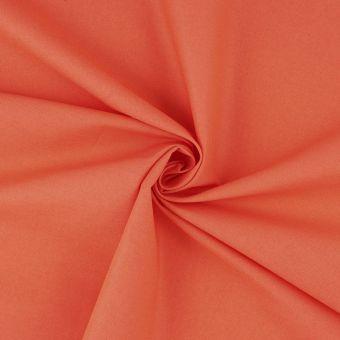 Tissu coton Cristina corail
