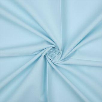 Tissu coton bio uni turquoise