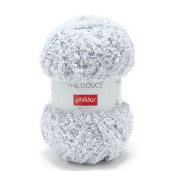Fil à tricoter Douce gris clair