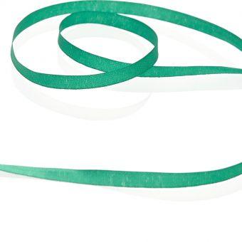 Ruban àbroder Vert moyen 4 mm