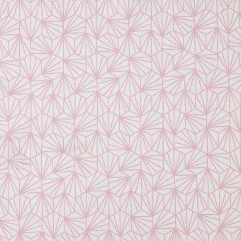 Tissu japonais origami rose