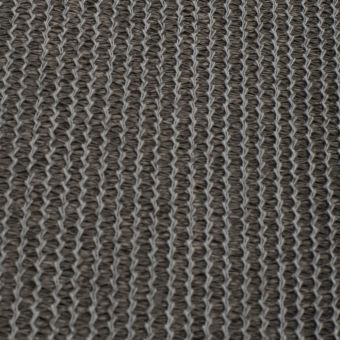 Tissu toile d'ombrage anti-tâches, anti-uv coloris gris foncé