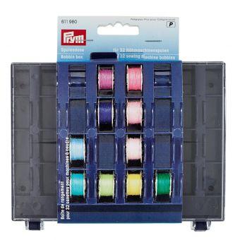 Boîte de canettes pour 32 canettes pour machines à coudre
