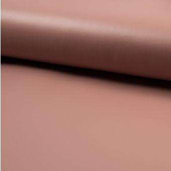 Tissu néoprène enduit vieux rose