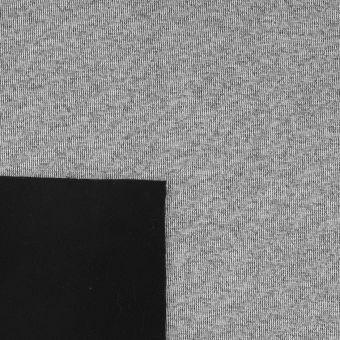 Tissu imperméable et coupe-vent épais gris chiné