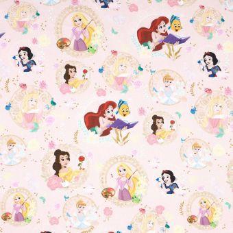 Tissu cretonne princesses Disney