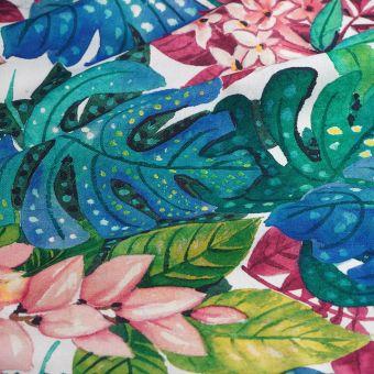 Tissu coton épais wonder flowers